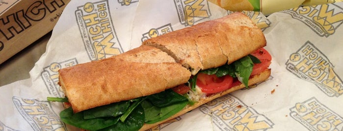 Which Wich? Superior Sandwiches is one of Locais curtidos por Jonathan.
