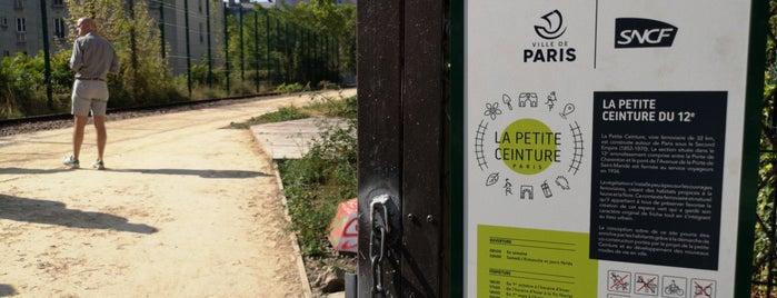 Sentier Nature de la Petite Ceinture du 12eme is one of Paris.