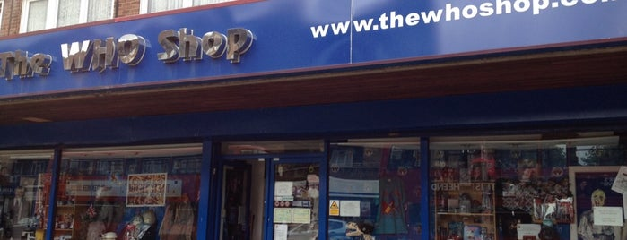 The Who Shop & Museum is one of England (insert something witty here).