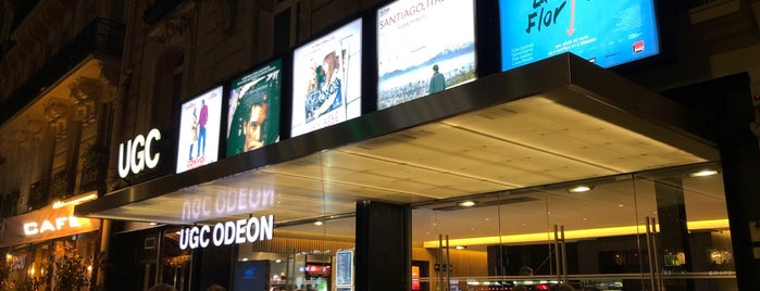 UGC Odéon is one of Quartier Latin.