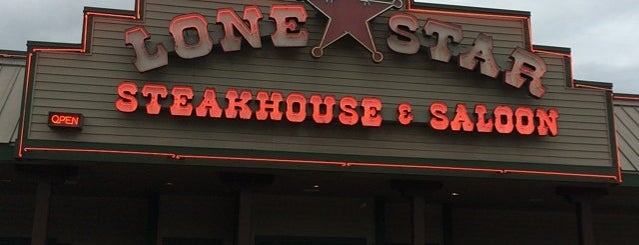 Lone Star Steakhouse is one of Lugares favoritos de Don (wilytongue).