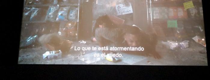 Cinemex Platino is one of Locais curtidos por Diego.