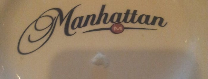 The Manhattan Steakhouse & Bar is one of Posti che sono piaciuti a Dominic.