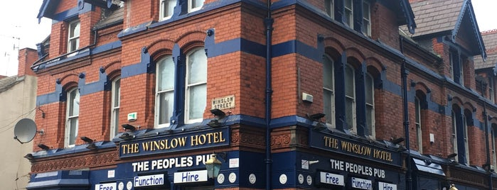 The Winslow Hotel is one of Do: Liverpool ☑️.