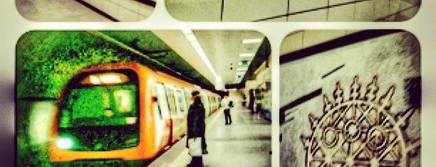 Göztepe Metro İstasyonu is one of Tempat yang Disukai Onediyo.