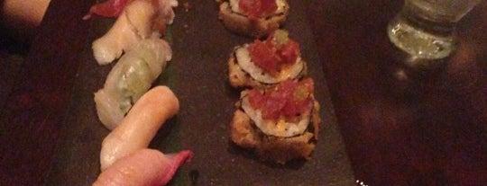 Mizu Sushi Bar is one of 20 favorite restaurants.