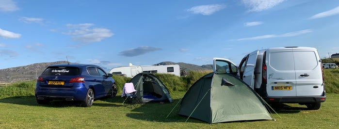 Durness campsite is one of Scotland.