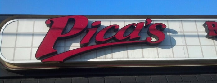 Pica's Italian Restaurant is one of Locais salvos de Anthony.