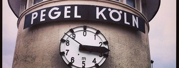 Pegel Köln is one of K\ö/ln.