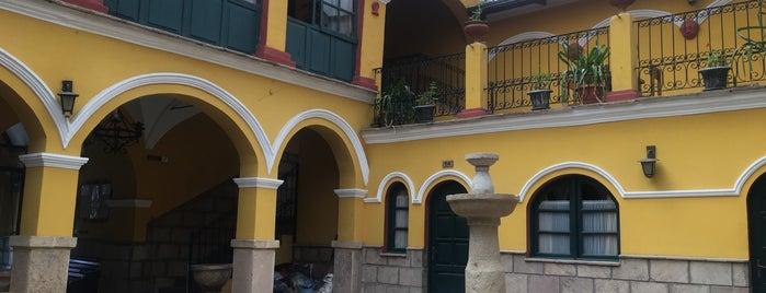 Hostal La Casona Hotel Potosi (Bolivia) is one of Posti che sono piaciuti a Nelly.