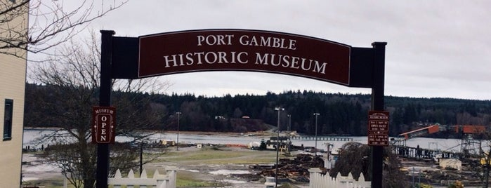Port Gamble Historic Museum is one of Kitsap County.