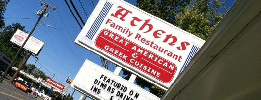 Athens Family Restaurant is one of Diners, Drive-Ins, and Dives.