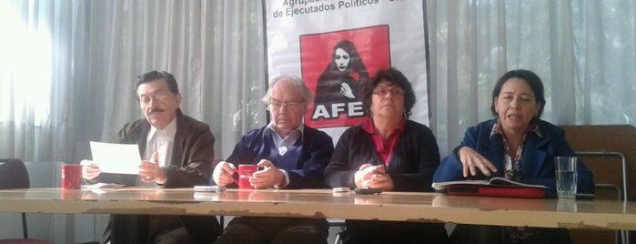 Agrupación de familiares de ejecutados políticos is one of Arte, Cultura & Entretenimiento.