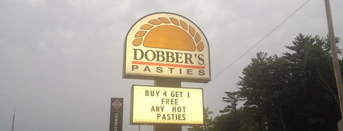 Dobber's Pasties is one of Michigan.
