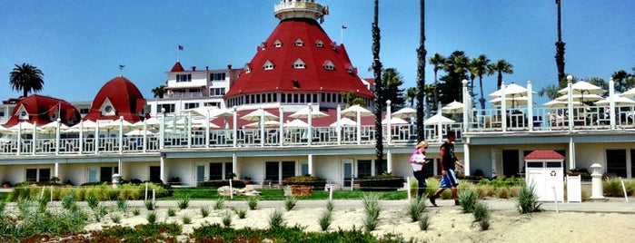 Hotel del Coronado is one of Whale's Vagina.