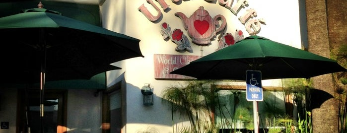 Urth Caffé is one of everybody loves WeHo.