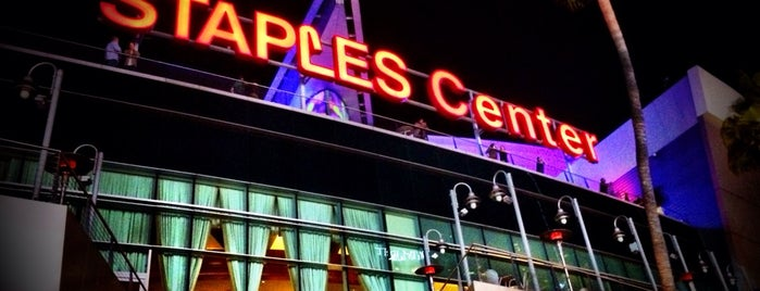STAPLES Center is one of LA2K14.