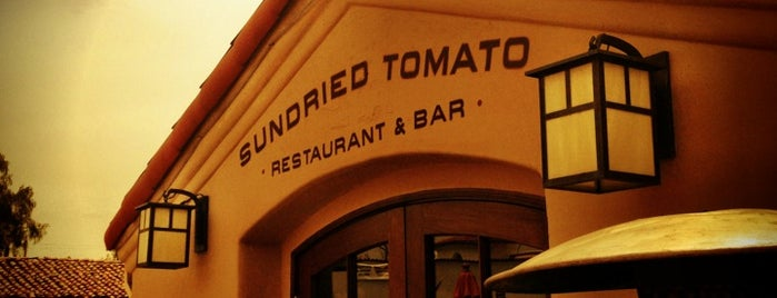 Sundried Tomato Cafe is one of California OC.