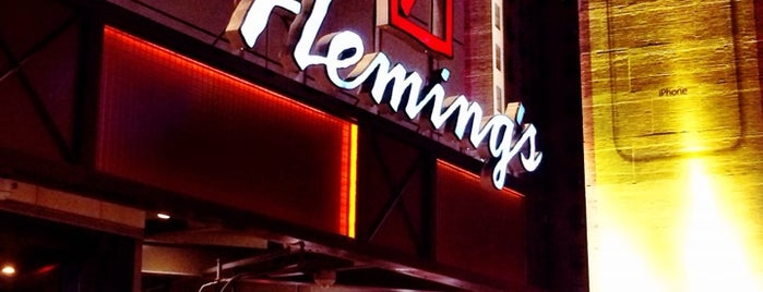 Fleming's Prime Steakhouse & Wine Bar is one of LA.