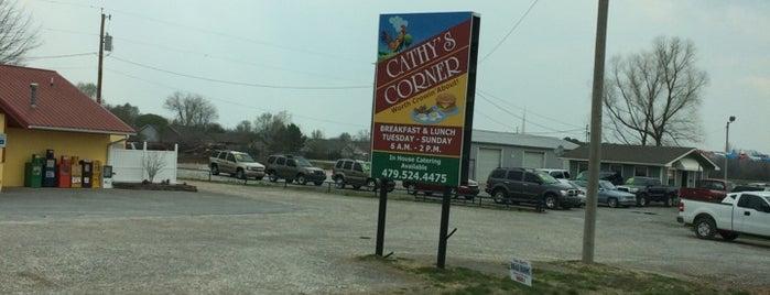 Cathy's Corner is one of NWA Favorites.