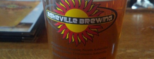 Asheville Brewing Company is one of Where to Drink in Asheville.