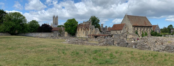St Augustine's Abbey is one of Went Before 5.0.