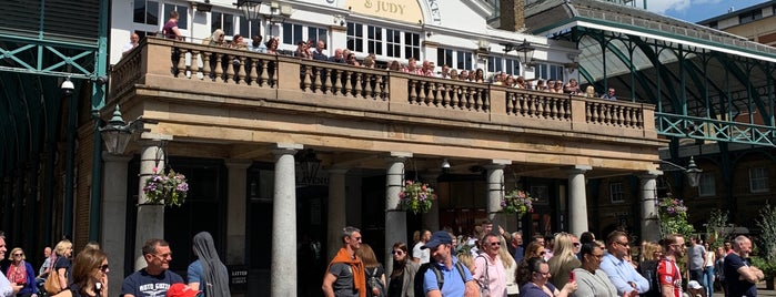 Covent Garden is one of London calling.