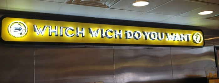 Which Wich? Superior Sandwiches is one of Sara Grace'nin Beğendiği Mekanlar.
