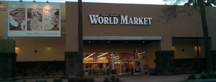 Cost Plus World Market is one of Tempe.