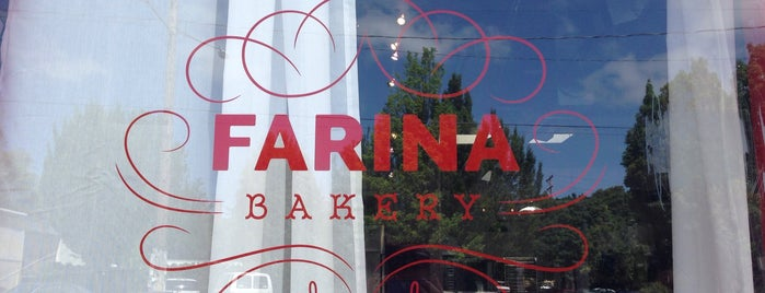 Farina Bakery is one of places I want to go.