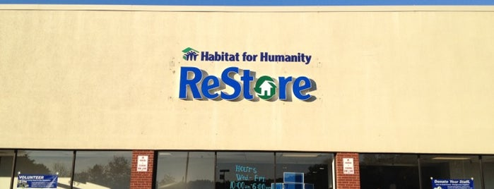 Habitat for Humanity ReStore is one of Manassas.