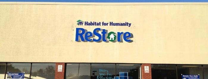 Habitat for Humanity ReStore is one of Manassas.