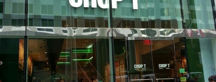 CHOPT is one of Salad Place.