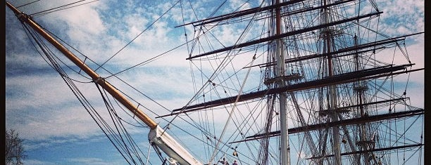 Cutty Sark is one of Greenwich and Docklands; London.