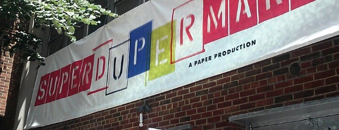 Paper Magazine Super (Duper) Market is one of Lieux sauvegardés par Etienne.
