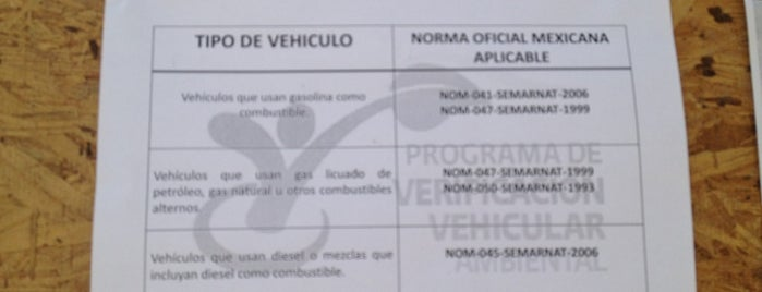Centro De Verificacion Vehicular Ambiental is one of Tempat yang Disukai Jerry.