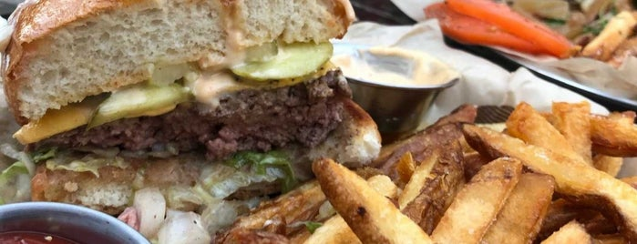 Allen Burger Venture is one of Buffalo Local Restaurant Week.
