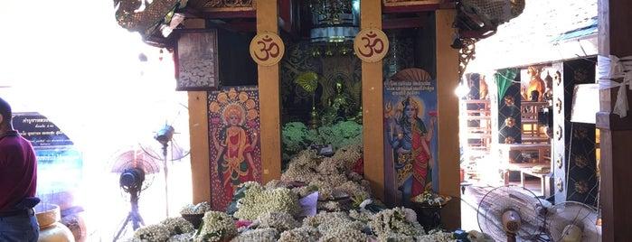 วัดพระธาตุดอยคำ (วัดสุวรรณบรรพต) Wat Phra That Doi Kham is one of Marisa 님이 좋아한 장소.