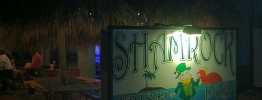 Shamrock Irish Pub is one of Island Bars.