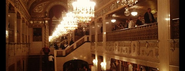 Benedum Center for the Performing Arts is one of dos....