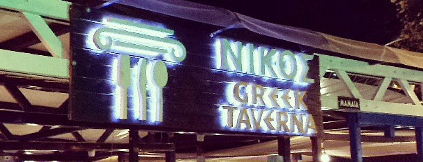 Nikos Greek Taverna is one of Posti che sono piaciuti a Uğur.