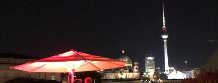 Dachterrasse | Hotel de Rome is one of Gespeicherte Orte von Joy 🍀.