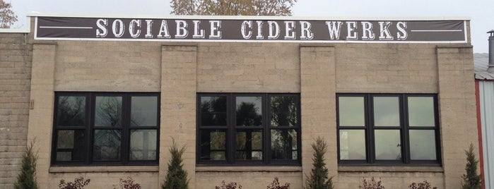Sociable Cider Werks is one of Tap Rooms / Breweries in the Greater MN Area.