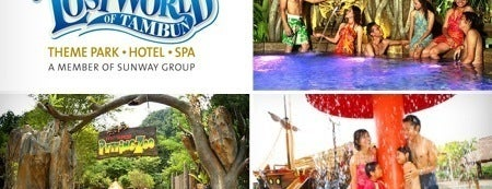 Lost World of Tambun is one of Holidaying in Ipoh.