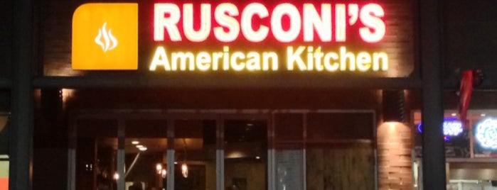 Rusconi's American Kitchen is one of Locais curtidos por Natalie.
