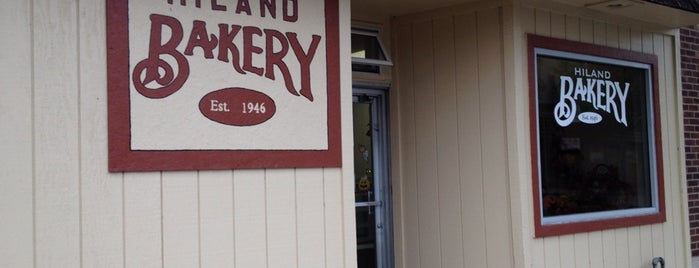Hiland Bakery is one of Des Moines, Iowa.