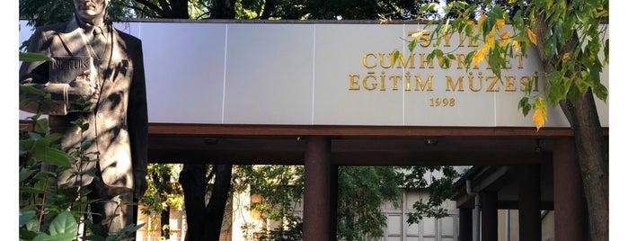 75. Yıl Cumhuriyet Eğitim Müzesi is one of Ankara Turu.