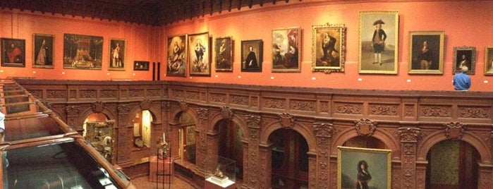 The Hispanic Society Of America is one of Stevenson's Favorite Art Museums.