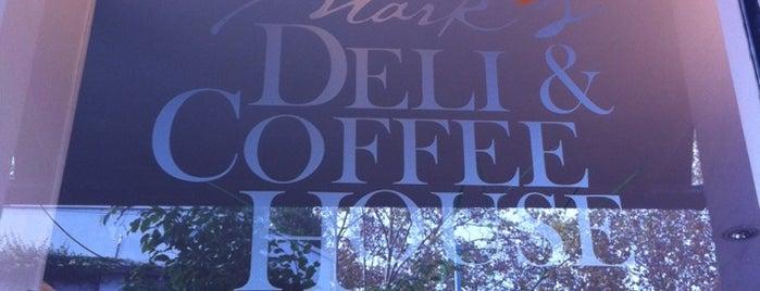Mark's Deli & Coffee House is one of Veggies.