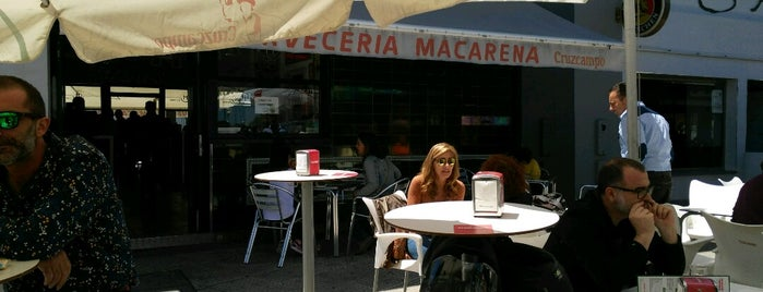 Cervecería Macarena is one of Provincia de Sevilla.